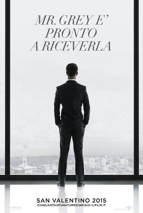 Manifesto di 50 sfumature di Grigio - immagine da ufficio stampa film