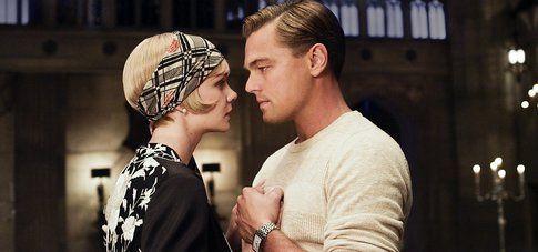 Una scena del film Il Grande Gatsby