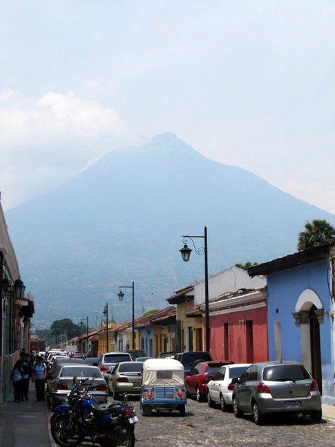 Antigua ed il Vulcano