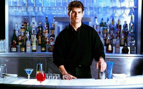Tom Cruise in Cocktail - foto da Facebook fan page