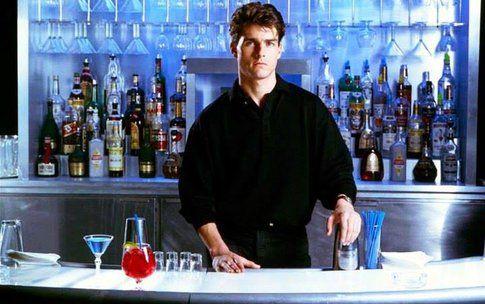 Tom Cruise in Cocktail - foto da Facebook fan page