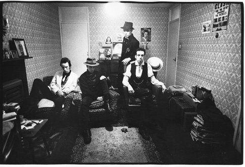 The Clash - foto da Facebook fan page