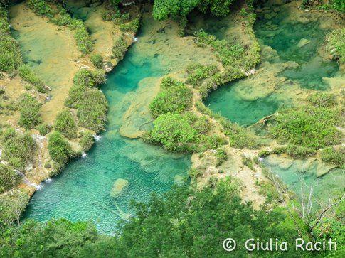 Semuc Champey piscine naturali