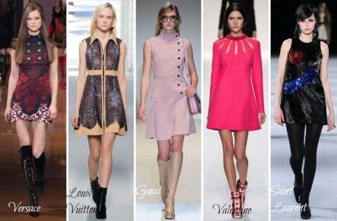capi di abbigliamento Sixties