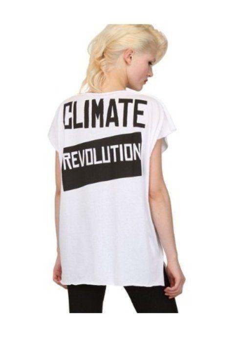 T-shirt Vivienne Westwood Climate Revolution