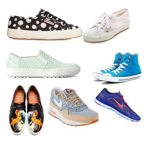 Sneakers colorate e comode!