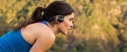Il modello waterproof del Walkman Sony è l'ideale per lo sport