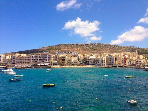 Marsalforn a Gozo - foto di Elisa Chisana Hoshi