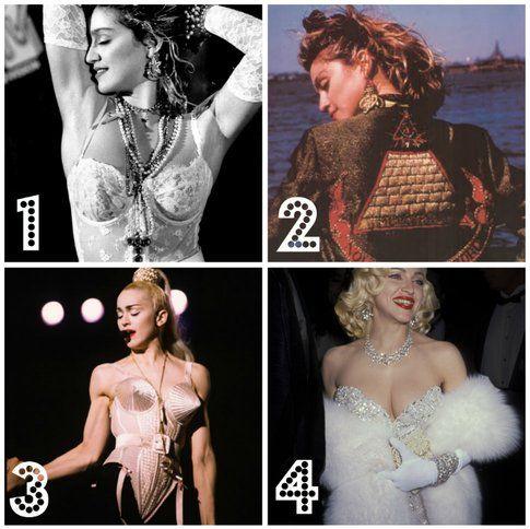 Madonna: 10 stili di un'icona - 1. La vergine 2. Susan 3. la controversa 4. Marilyn