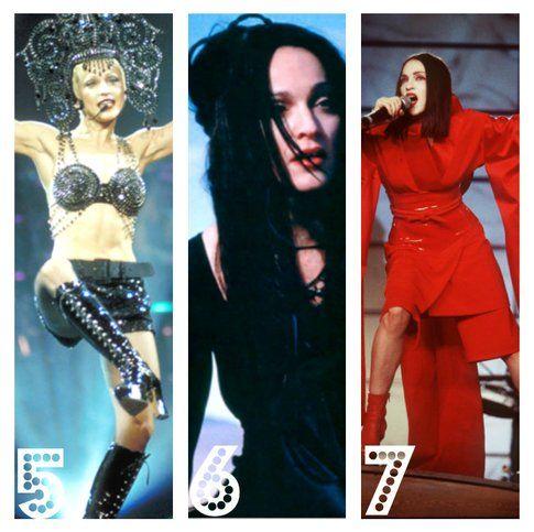 Madonna: 10 stili di un'icona - 5. L'esplicita 6. La mistica 7. La Geisha