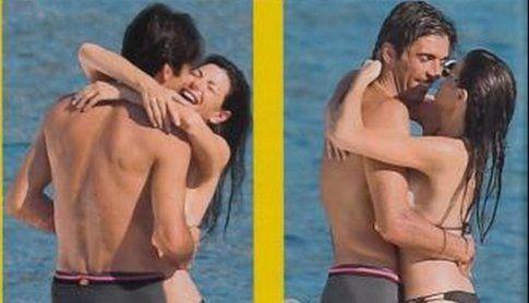Gigi Buffon e Ilaria D'amico - foto Gente