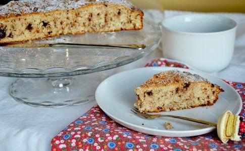 Torta cocco e cioccolato senza uova e burro. Ricetta e foto di Roberta Castrichella.