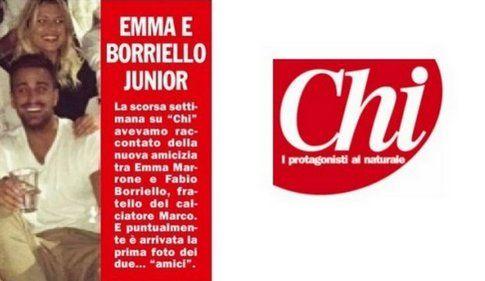 Emma e Fabio - fonte: settimanale CHI
