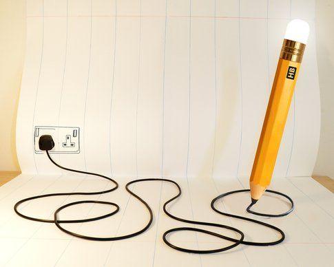 HB Lamp. Michael & George