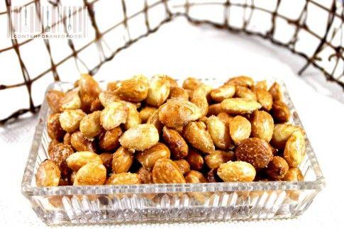 La ricetta delle mandorle salate per uno snack o un aperitivo sfizioso