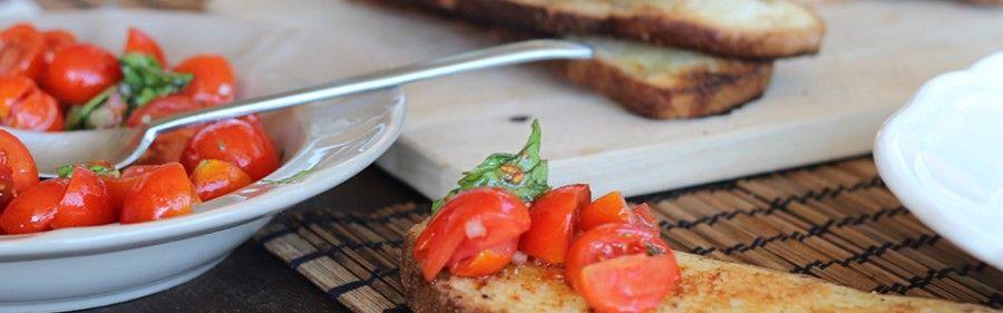 Bruschetta le 5 migliori ricette regionali bigodino for Ricette regionali