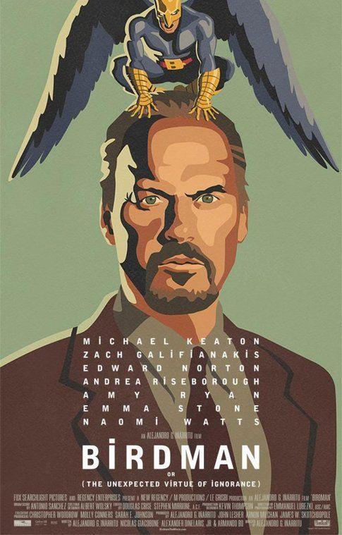 Locandina di Birdman - foto Movieplayer.it