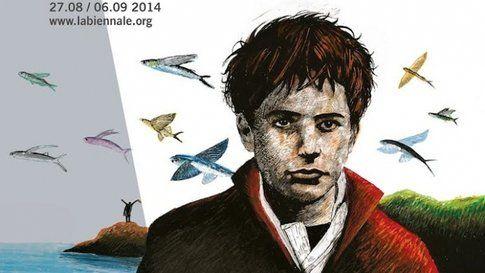 Locandina della 71a edizione del Festival del cinema di Venezi