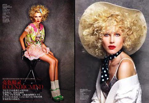 Dree Hemingway su Vogue China