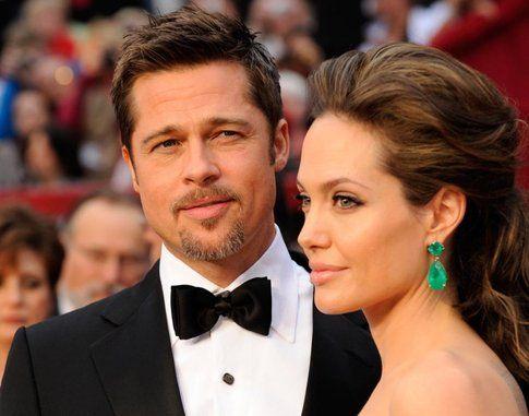 Brad Pitt e Angelina Jolie: matrimonio segreto