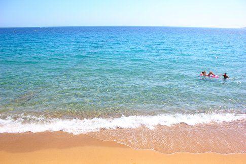 Cannes, la spiaggia - Foto di Elisa Chisana Hoshi