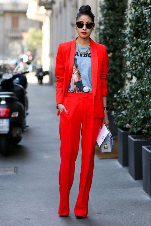 Talleur rosso lacca - ph streetstyle le21ieme