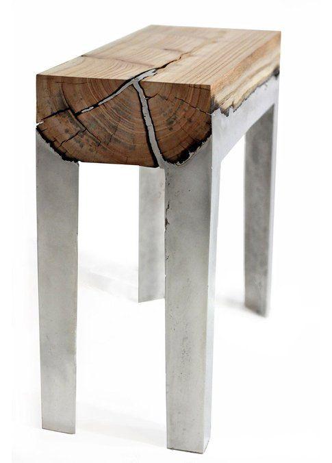 Hilla Shamia. Wood casting