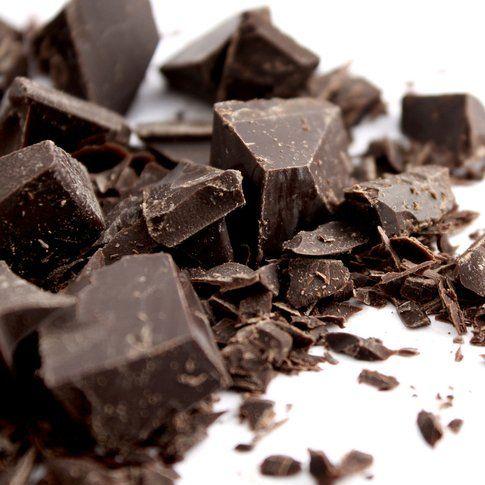 Cioccolato fondente: 515 calorie ogni 100 grammi