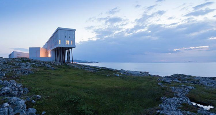 Design hotel the fogo island inn bigodino for Designhotel island