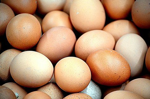 Uova: 130 calorie ogni 100 grammi