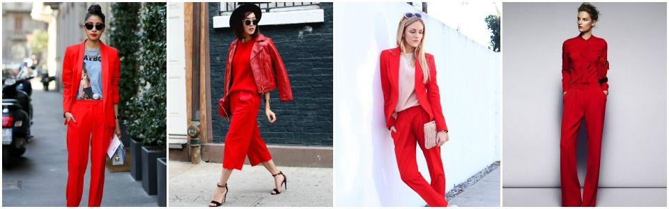 Rosso è il colore di tendenza dell'inverno