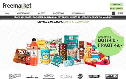 Freemarket: da sito online a negozio