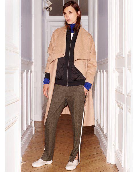 Zip decorative ai lati per i pantaloni Zara