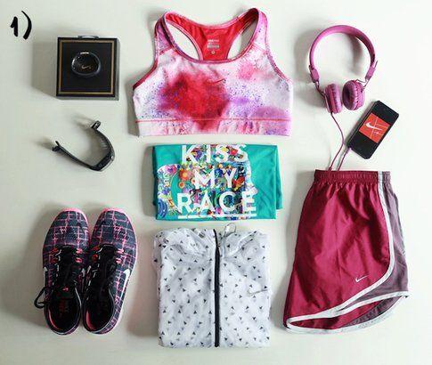 Look da allenamento colorato e allegro-fonte: stylescrapbook.com