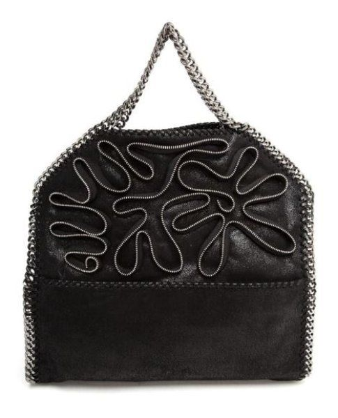 Falabella Bag di StellaMcCartney con zip decorative