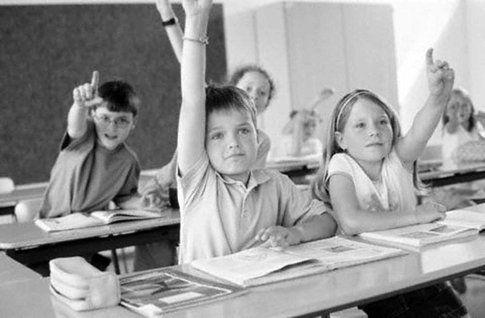 bambini di una scuola pubblica
