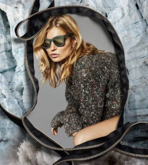 Kate Moss mood zip FW 2015 per StellaMcCartney