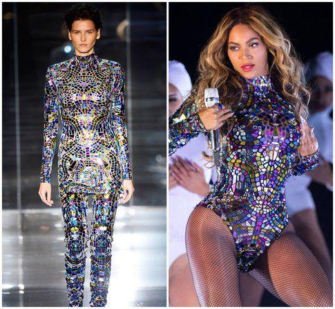 Il body creato da Tom Ford apposta per Beyoncé