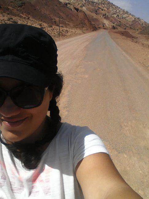 Halfie in Marocco