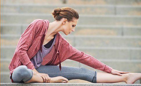 Look da yoga o Pilates low cost proposto da Mango- fonte :Mango.com