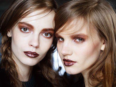 Quest'anno osate con ombretti retrò e smoky eyes particolari- fonte:Rodarte Makeup
