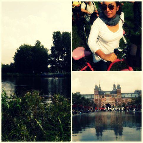 Gita in bici fiume Amstel