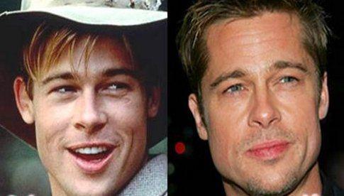 Brad Pitt e le sue orecchie a sventola
