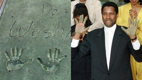 Denzel Washington ed il suo mignolo storto