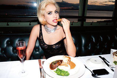 Lady Gaga e la dieta del 5