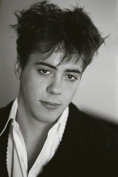 Robert Downey Jr. nel 1985 - foto ladycibia.tumblr.com
