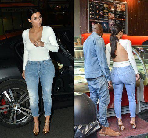 Kim Kardashian ha curve che non passano inosservate - Fonte: pldnUK