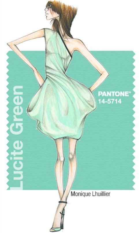 Pantone Lucite Green
