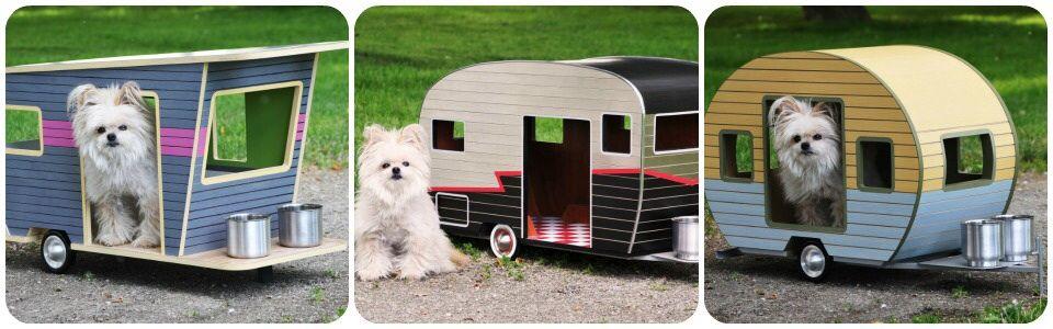 L'irresistibile cuccia-roulotte per cani