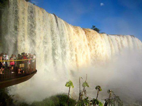 Cascate dell'Iguazù, lato brasileiro